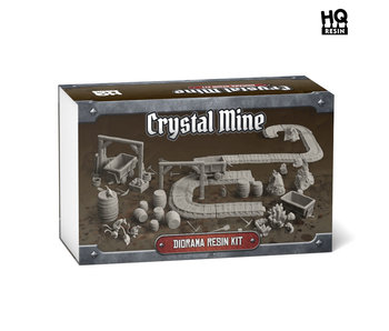 Crystal Mine Diorama Resin Kit - HQ Resin