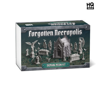 Forgotten Necropolis Diorama Resin Kit - HQ Resin