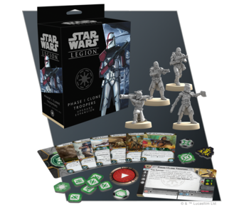 Star Wars Legion - Phase 1 Clone Trooper Upgrade Expansion