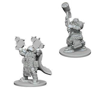 D&D Unpainted Minis Wv2 Dwarf Male Cleric