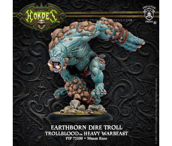 Trollbloods Heavy Warbeast Earthborn Dire Troll Box (Platic) PIP71100