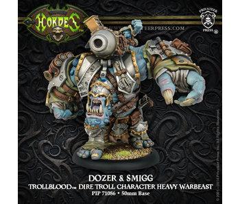 Trollbloods Dozer & Smigg Char Heavy Warbeast Box PIP71086
