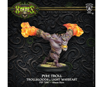 Trollblood Pyre Troll Light Warbeast Box (Plastic) PIP71067