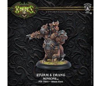 Minions Sturm And Drang Warlock Blister PIP75033