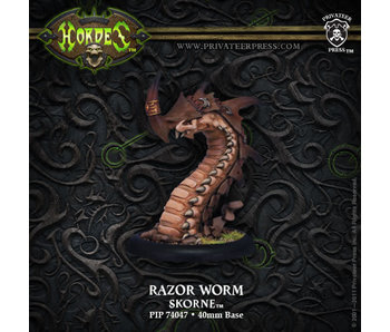 Skorne Razor Worm Light Warbeast Blister PIP74047