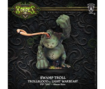 Trollblood Swamp Troll Light Warbeast Box (Plastic) PIP71047