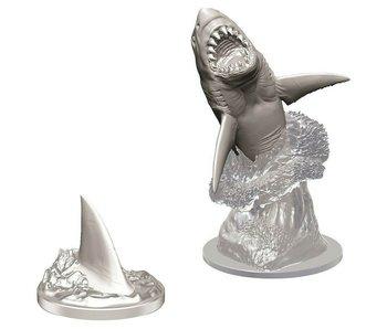 D&D Wizkids Unpainted Minis Wv9 Shark