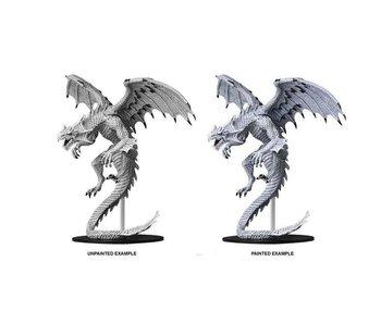 Pathfinder Unpainted Minis Gargantuan White Dragon