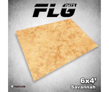 Frontline Gaming Mat Savannah 6x4