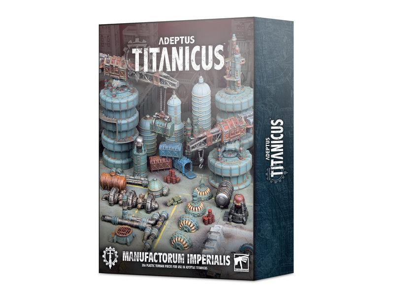 Games Workshop Adeptus Titanicus - Civitas Imperialis Industrial Scenery