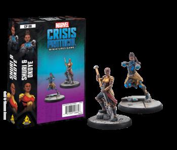 Marvel Crisis Protocol - Shuri & Okoye Character Pack