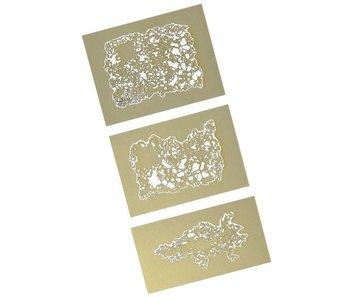 Iwata Texture Fx Mini Series airbrush templates Artool