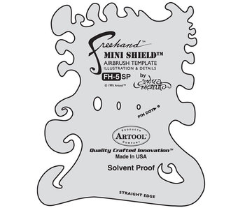 Iwata Mini Shield Template FH 5 SP Andrea Mistretta