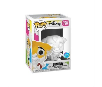 Funko Pop! Disney Lion King - Simba (DIY)