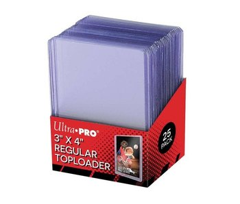 Ultra-Pro Top loader 3X4 Regular Clear 25Ct