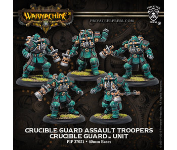 Crucible Guard - Assault Troopers (5) (Metal/Resin) (PIP 37021)