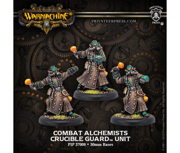 Crucible Guard - Combat Alchemist Unit (3) (metal/resin) (PIP 37008)