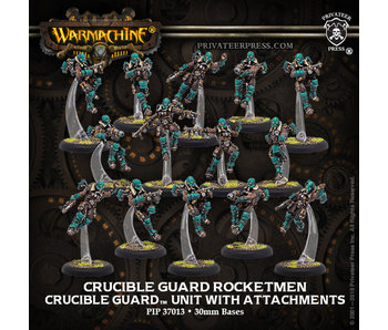 Crucible Guard - Rocketmen Unit (14) (metal/resin) (PIP 37013)