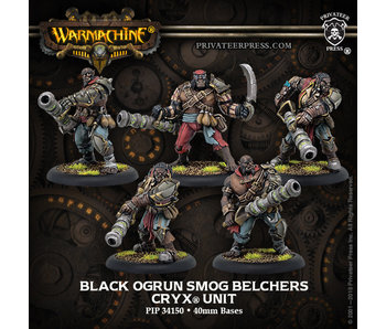 Cryx - Black Ogrun Smog Belchers (Resin/Metal) (5) (PIP 34150)