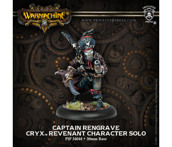 Cryx - Captain Rengrave (PIP 34048)