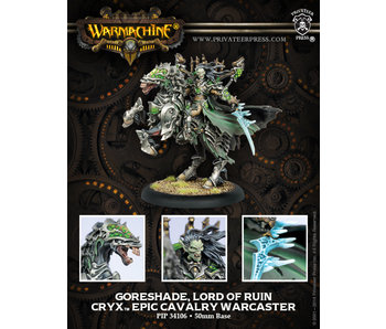 Cryx - Goreshade Lord Of Ruin (PIP 34106)
