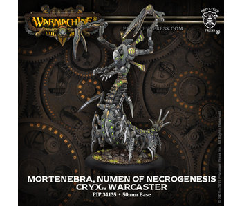 Cryx - Mortenebra, Numen of the Necrogenesis (PIP 34135)