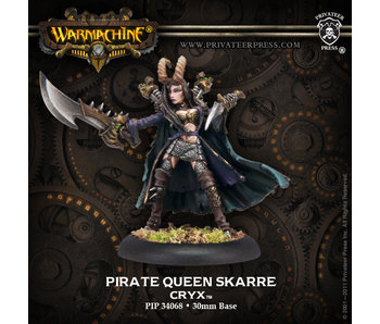 Cryx - Pirate Queen Skarre (PIP 34068)