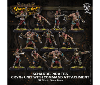 Cryx - Scharde Pirates (Resin/Metal) (11) (PIP 34149)