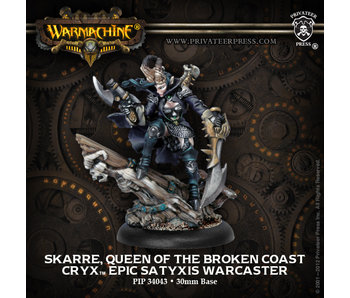 Cryx - Skarre Queen Of Broken Coast (PIP 34043)