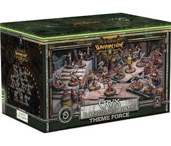 Cryx - Slaughter Fleet Raiders Theme Force Box (Mixed Resin/Metal) (PIP 34139)
