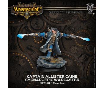 Cygnar - Captain Allister Caine (PIP 31041)