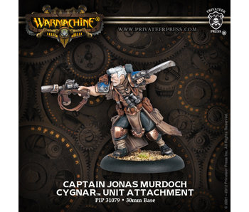 Cygnar - Captain Jonas Murdoch (PIP 31079)