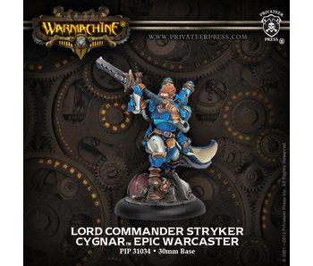 Cygnar - Lord Commander Stryker (PIP 31034)