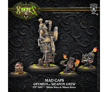 Grymkin - Mad Caps Weapon Crew (PIP 76017)
