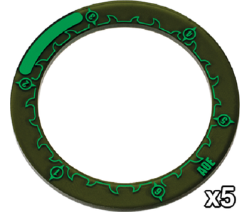 Hordes 3 inches Area Of Effect Rings (PIP 91086)