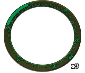 Hordes 4 inches Area Of Effect Rings (PIP 91087)