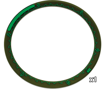 Hordes 5 inches Area Of Effect Rings (PIP 91088)
