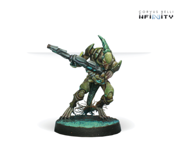 Infinity - Combined Army Shasvastii Gwailos Multi Rifle