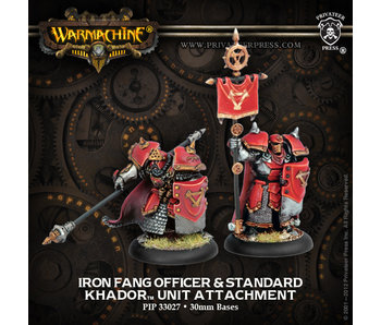 Khador - Iron Fang Unit Attachment (PIP 33027)