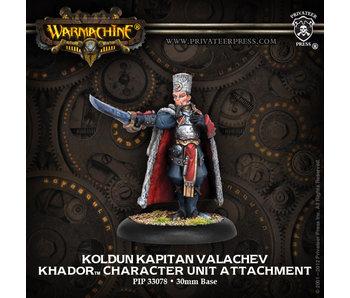Khador - Koldun Kapitan Valachev (PIP 33078)