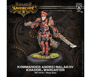 Khador - Kommander Andrei Malakov (PIP 33119)