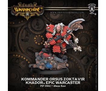 Khador - Kommander Orsus Zoktavir (PIP 33042)