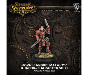 Khador - Kovnik Andrei Malakov (PIP 33103)
