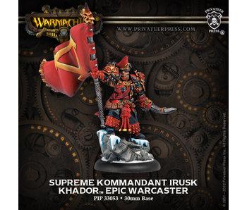 Khador - Supreme Kommandant Irusk (PIP 33053)
