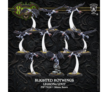 Legion of Everblight - Blighted Rotwings Unit (10) (Resin/Metal) (PIP 73110)