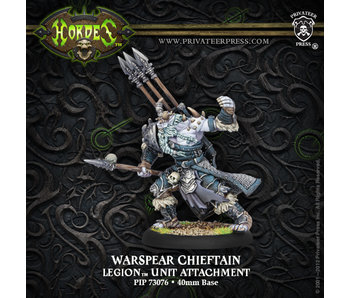 Legion of Everblight - Warspear Chieftain (PIP 73076)