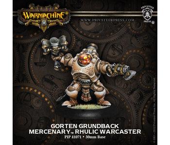 Mercenaries - Gorten Grundback (PIP 41071)