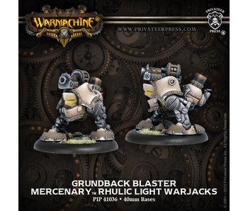 Mercenaries - Grundback Blaster (PIP 41036)