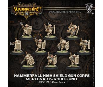 Mercenaries - High Shield Gun Corps (PIP 41122)