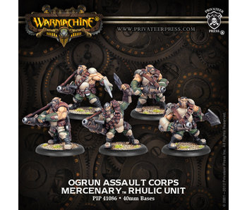 Mercenaries - Ogrun Assault Corps (PIP 41086)